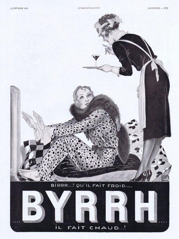 🍸 Boisson  💚   Byrrh 🍸