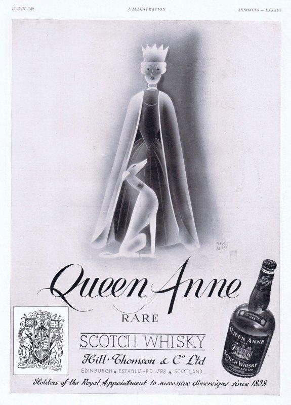 🥃 Spiritueux  💚  Scotch Whisky Queen Anne  🥃