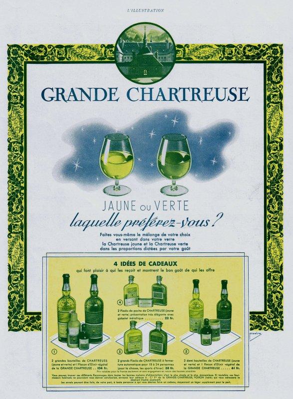 🍸 Spiritueux 💚 Grande Chartreuse  🍸