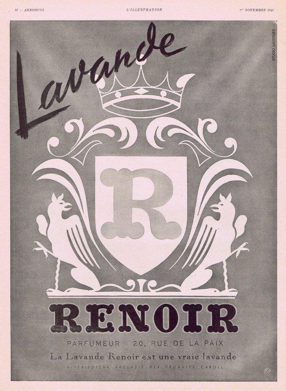 🌸 Renoir  ✿  Lavande 🌸
