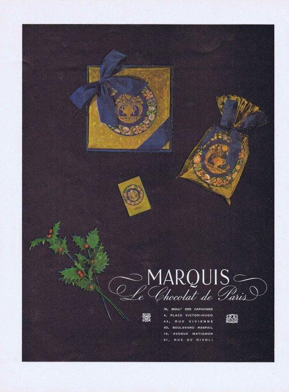 🍫 Chocolat  🍫 Marquis Le chocolat de Paris 🍫
