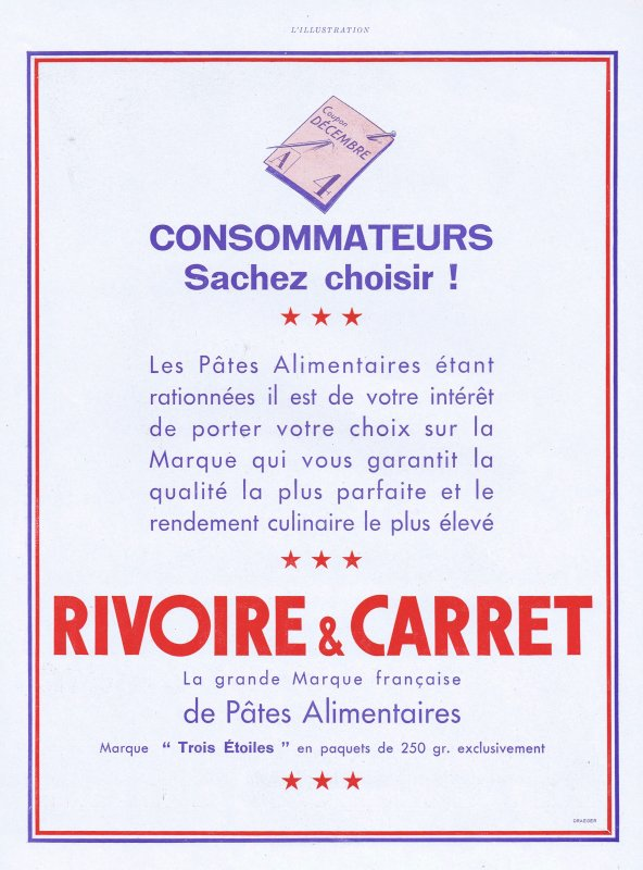 🍝  Les pâtes 🍝  Rivoire & Carret 🍝