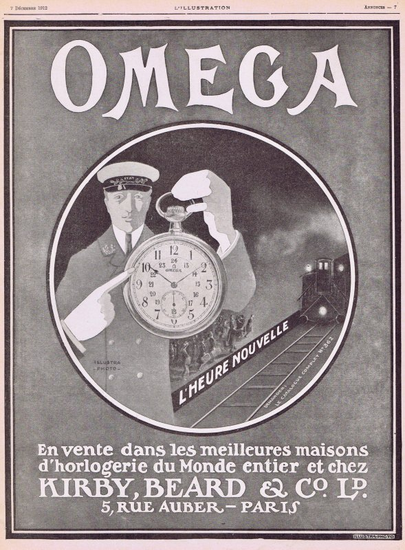 ⏰  Montres  ⏰  Omega  ⏰