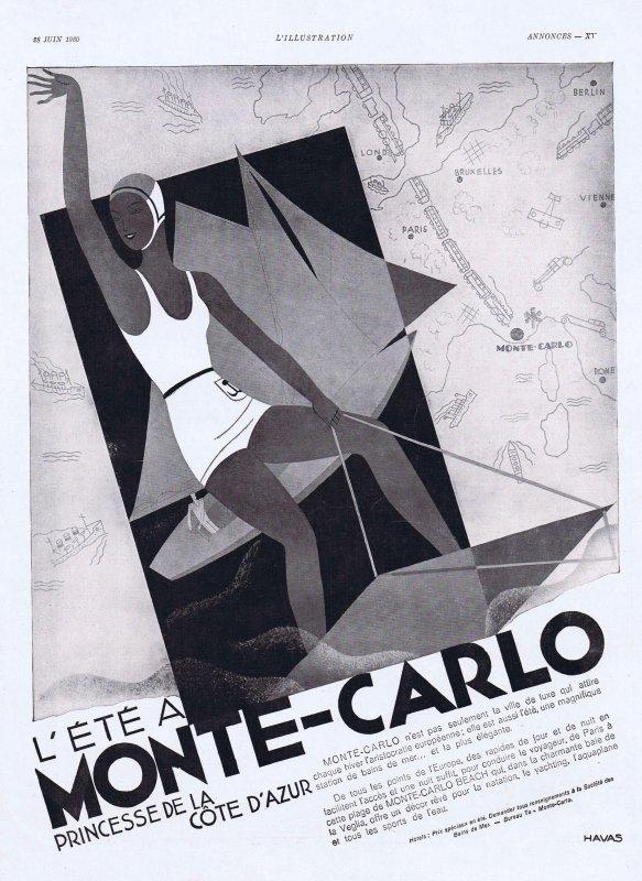 ✈ Monte-Carlo d'autrefois  ✈
