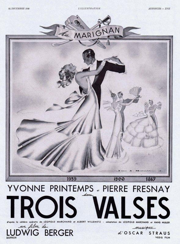 📽 Cinéma 📽 Trois valses 📽