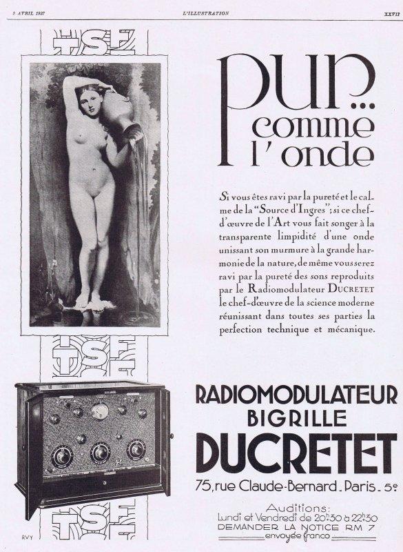 📻  Radio Ducretet 📻