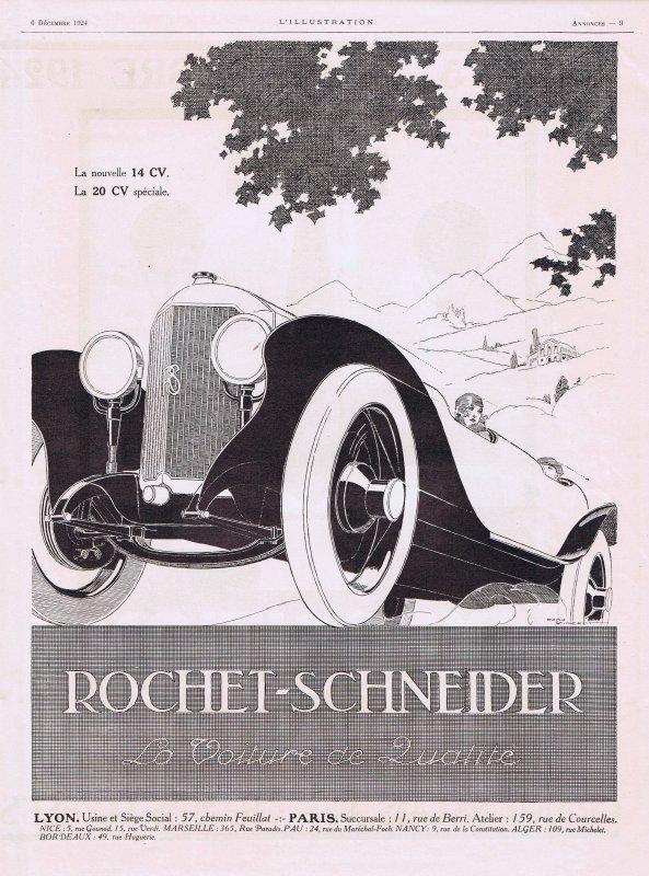 🚗 Automobile  🚗  Rochet-Schneider 🚗
