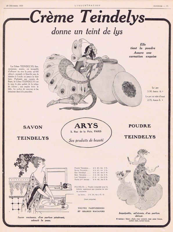 🌸  Arys  ✿  Poudre & Crème Teindelys 🌸