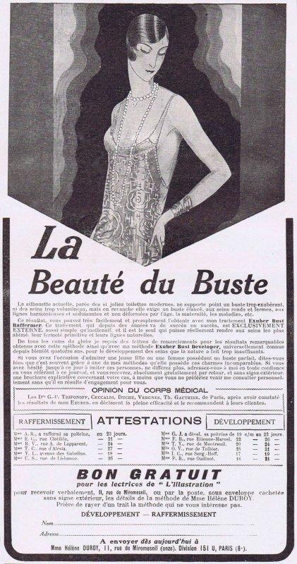 🧴  La beauté du buste  🧴