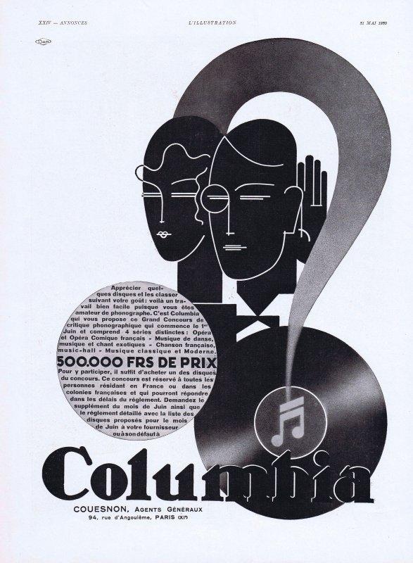 🎵  Musique 🎵  Columbia 🎵 Maison de disques fondée en 1888 🎵