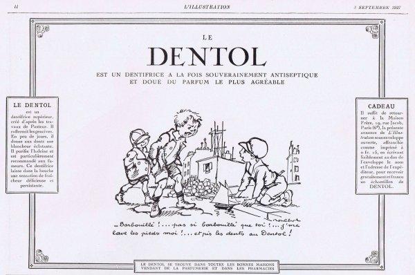 🦷  Dentifrice 🦷  Dentol 🦷