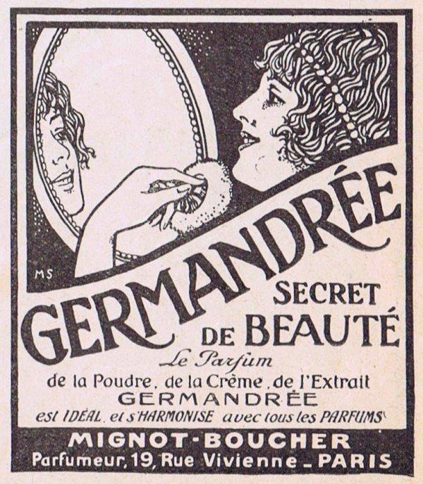 🌸   Mignot-Boucher ✿ Germandrée 🌸