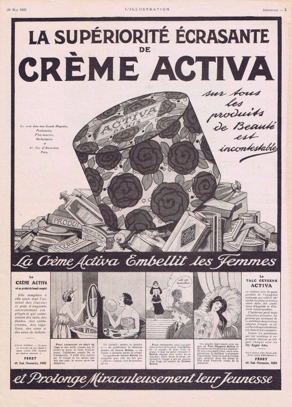 🧴 Crème Activa 🧴