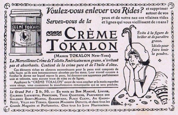 🧴 Crème Tokalon 🧴