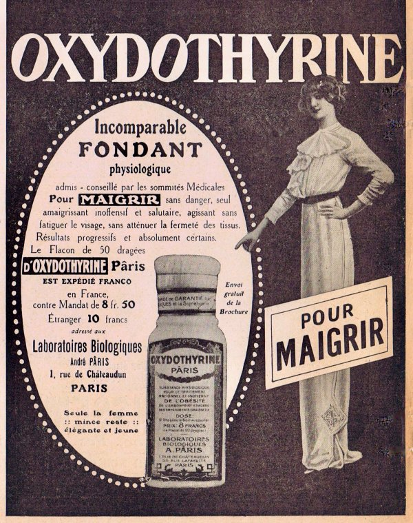 💊 Santé 💊 Pour maigrir avec Oxydothirine 💊