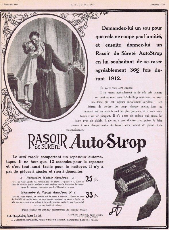 👨🏻 Les rasoirs  👨🏻 Rasoir de Sûreté AutoStrop 👨🏻