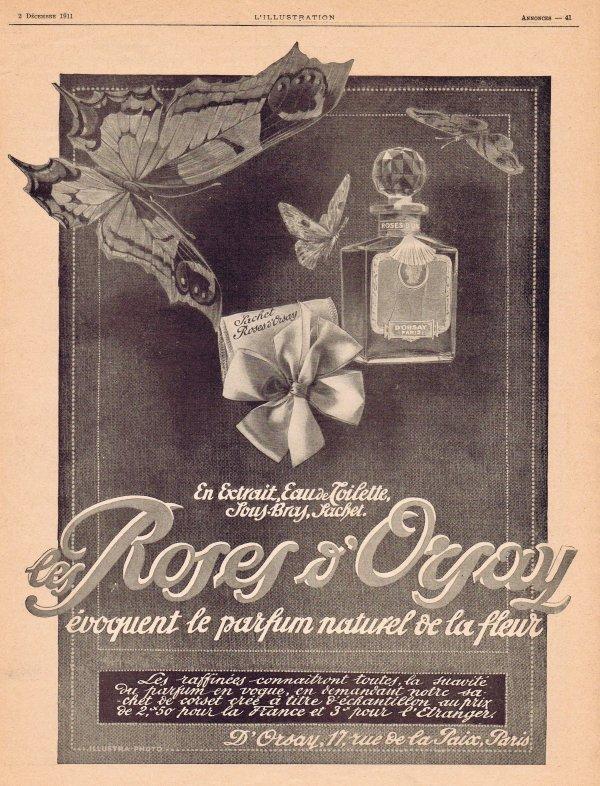 🌸 D'Orsay ✿ Les Roses d'Orsay 🌸