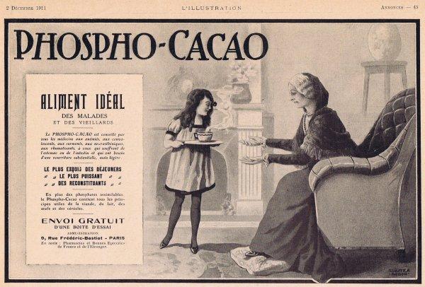 ☕ Boisson chocolatée  🍫  Phospho-Cacao ☕