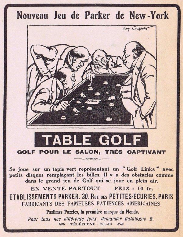 ⛳   Le golf de table ⛳