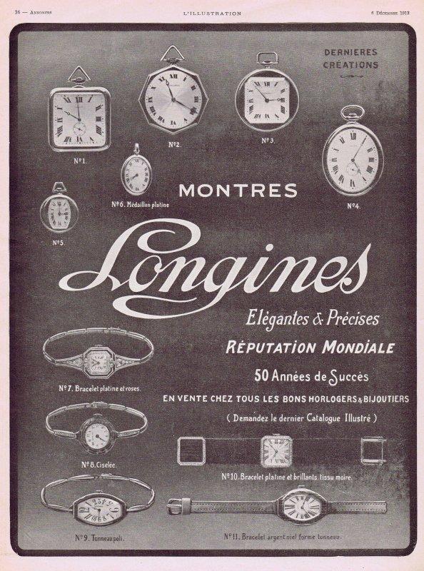 ⏰  Montres  ⏰  Longines  ⏰