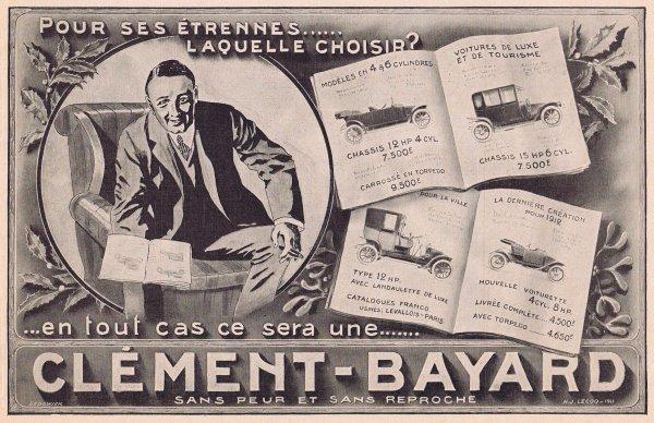 🚗  Automobile  🚗  Clément-Bayard 🚗