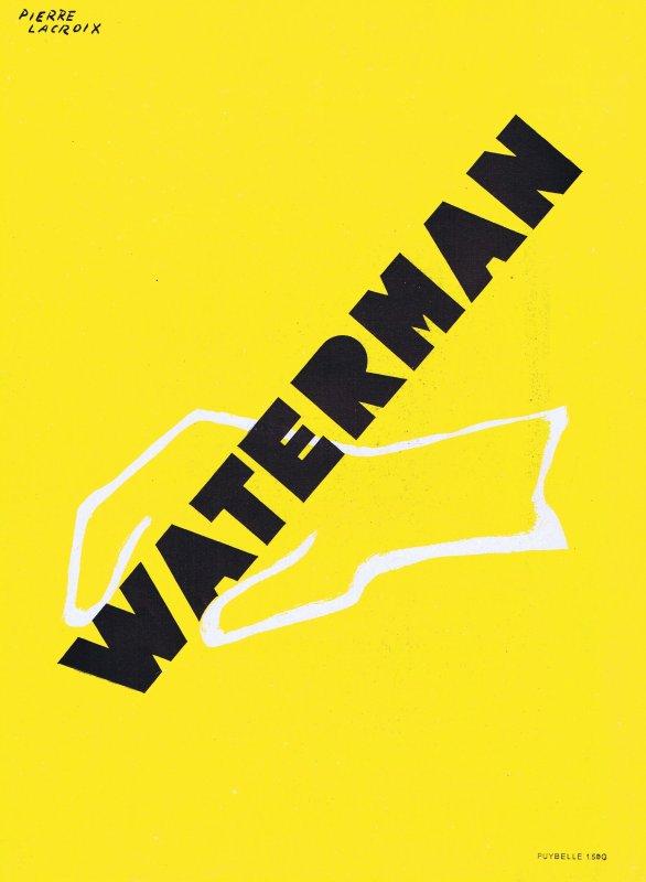 🖋 Ecriture 🖋  Waterman  🖋