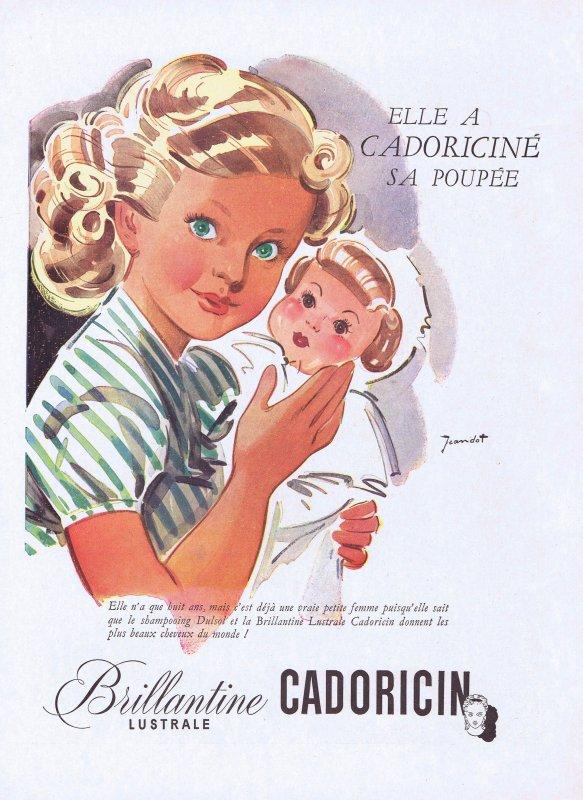 🎀  Coiffure  💆  Brillantine Cadoricin   🎀