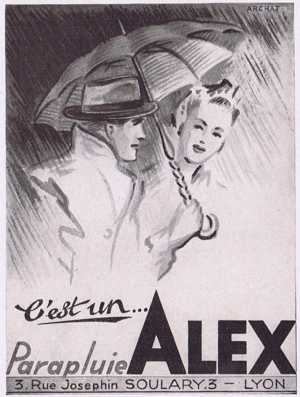 🌂 Parapluie 🌂 Alex 🌂