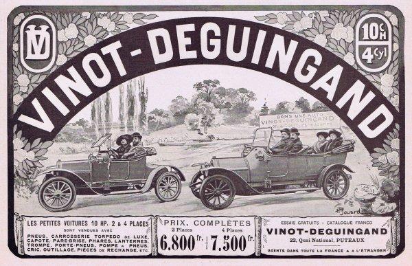 🚗 Automobile 🚗 Vinot & Deguingand 🚗