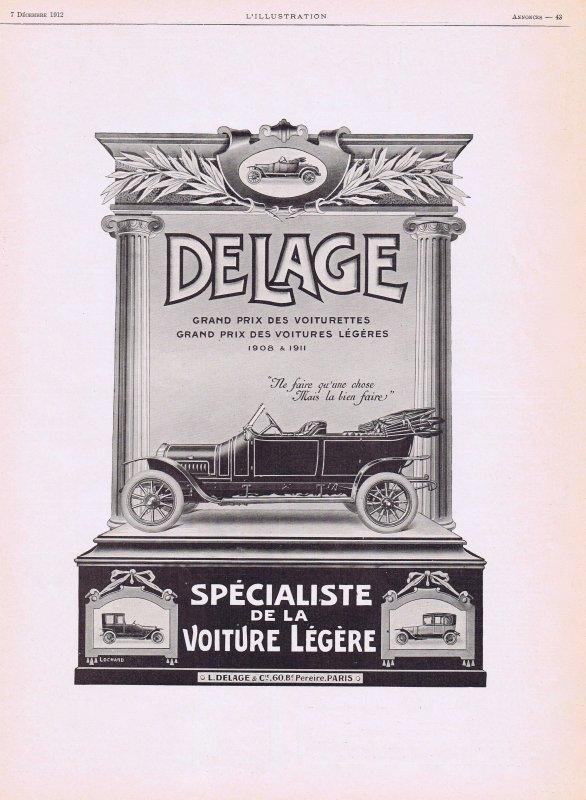 🚗 Automobile 🚗 Delage 🚗