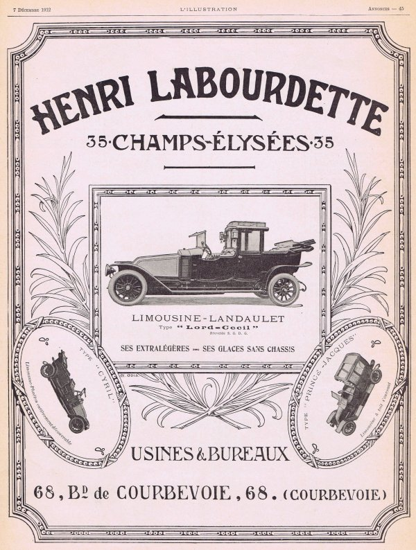 🚗 Automobile 🚗 Landaulet 🚗