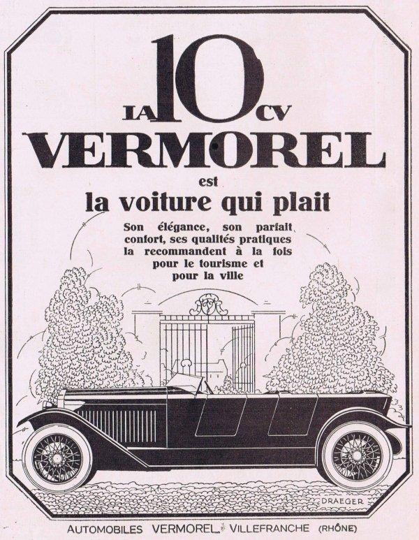 🚗 Automobile 🚗  Vermorel 🚗