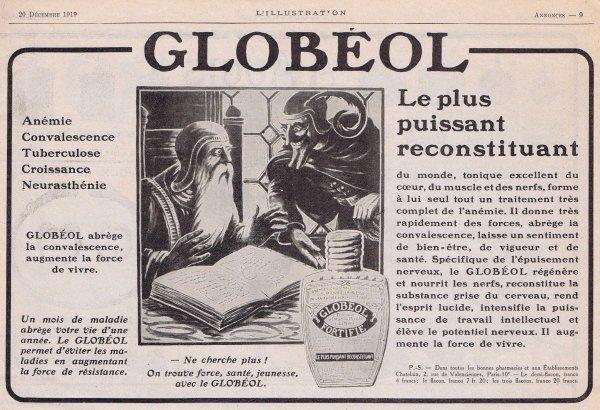 💊 Santé 💊 Globéol  -  fortifiant 💊