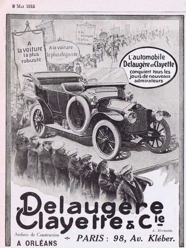 🚗 Automobile 🚗  Delaugère & Clayette 🚗