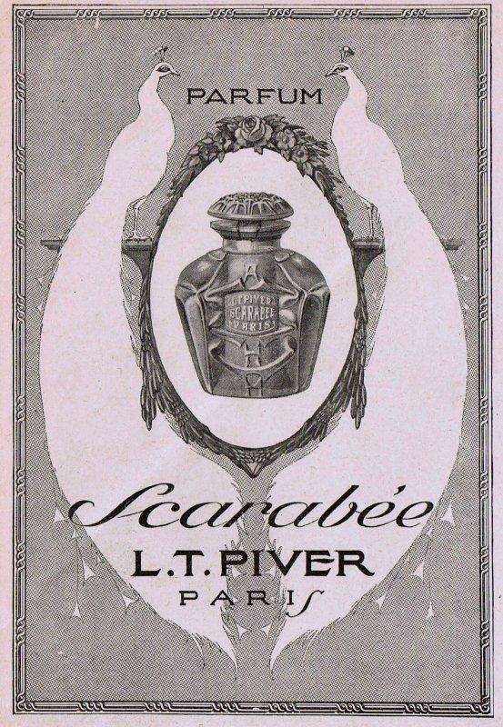 🌸 Piver L.T.  ✿  Scarabée 🌸
