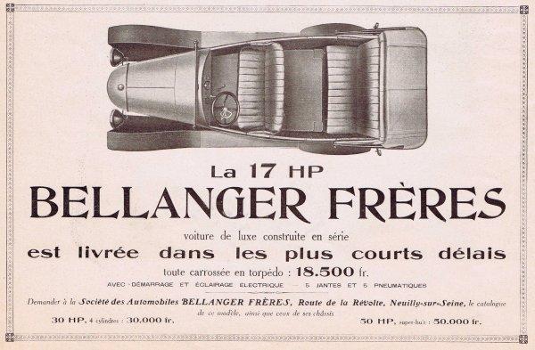 🚗 Automobile 🚗  Bellanger Frères 🚗