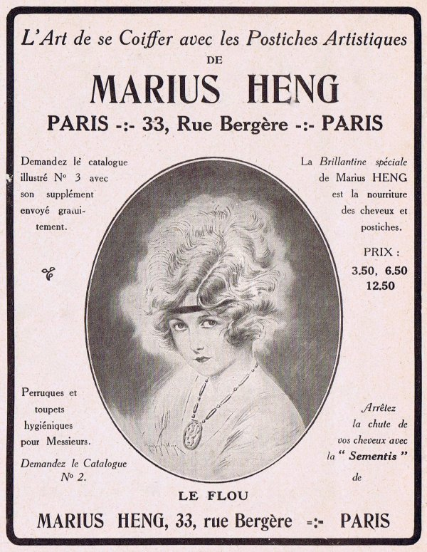 🎀  Coiffure 💆  Postiches artistiques de Marius Heng 🎀