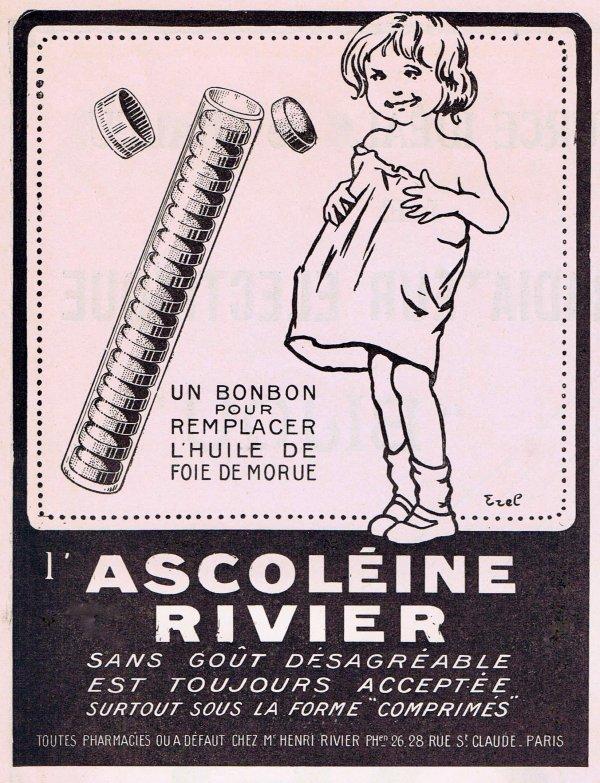 💊 Santé 💊 Ascoléine Rivier pour remplace le foie de morue  💊