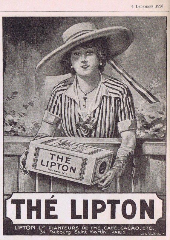 ☕ Boisson 💟  Thé Lipton ☕