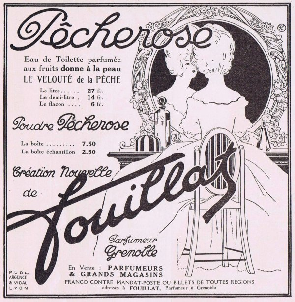 🌸  Fouillat  ✿  parfumeur à Grenoble  🌸