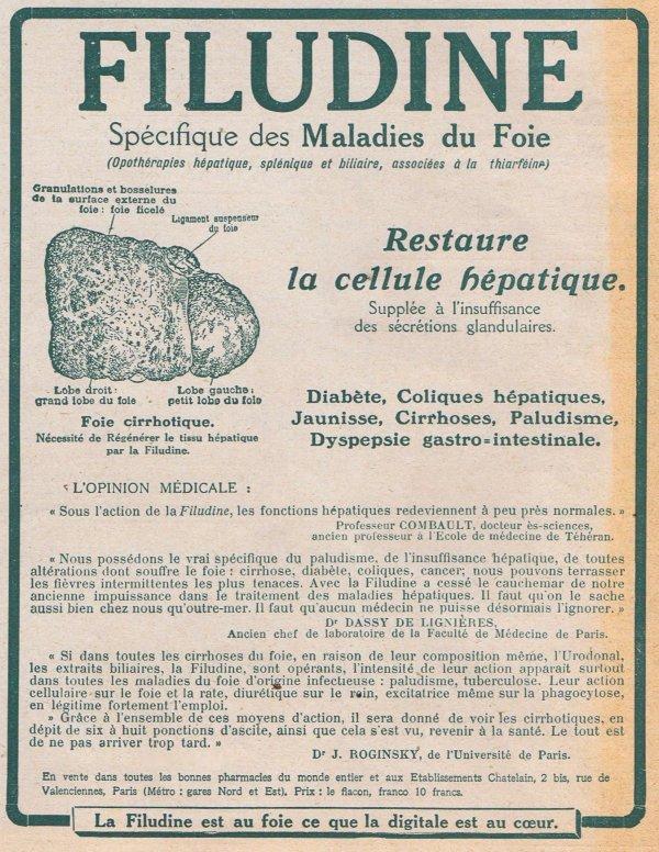💊 Santé 💊 Filudine (maladies du foie) 💊