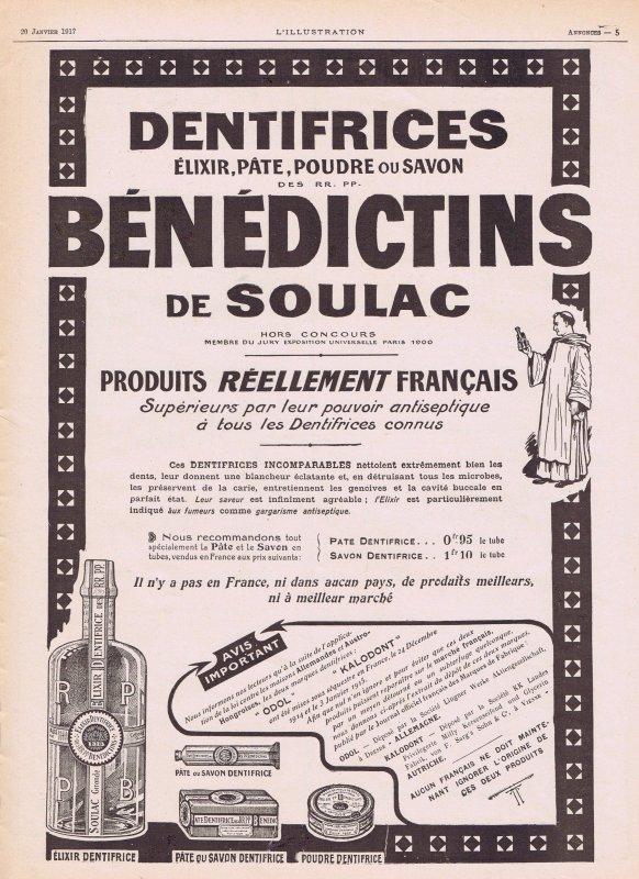 🦷 Dentifrice 🦷 Bénédictins de Soulac 🦷