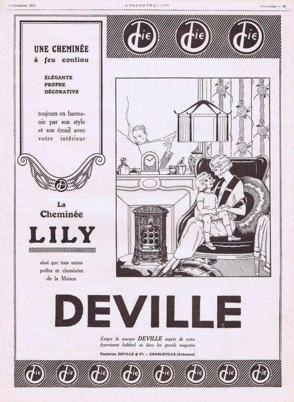 🎇 La cheminée  Deville 🎇