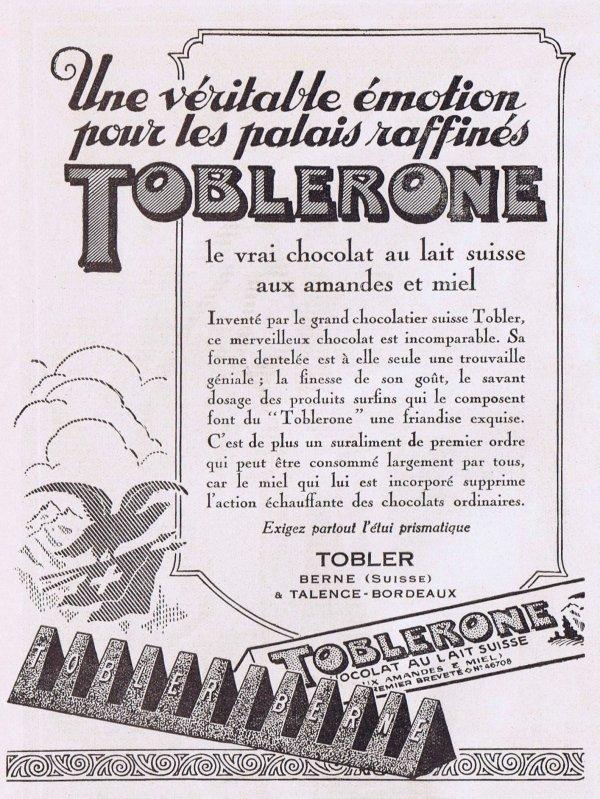 🍫 Chocolat  🍫 Toblerone 🍫
