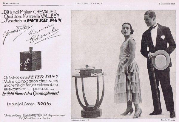🎵  Musique 🎵  Peter Pan - le petit poucet des gramophones  🎵