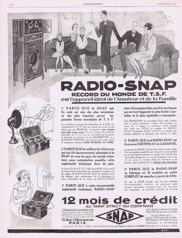 📻  Radio-Snap 📻