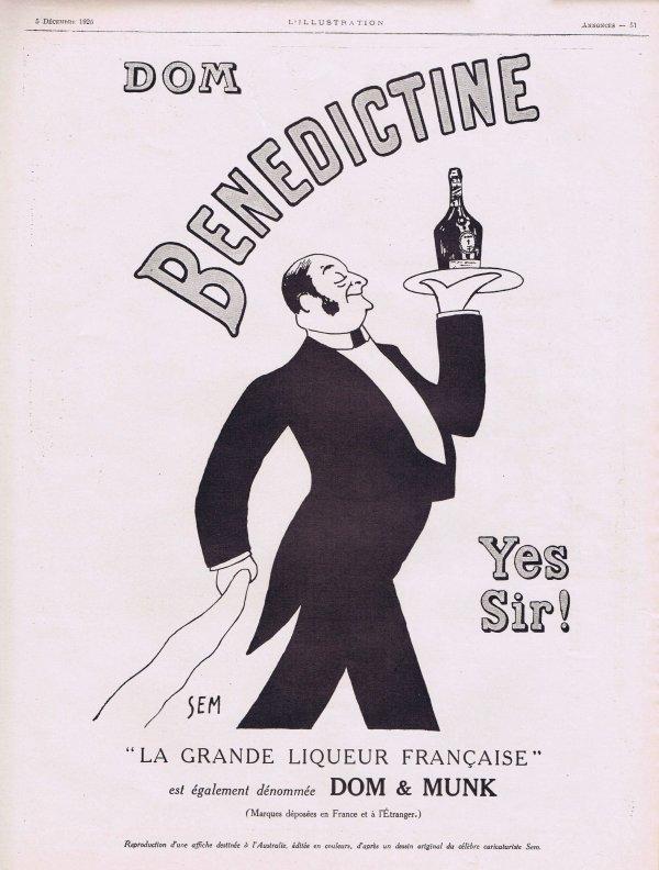 🍸 Spiritueux  💚  Dom Bénédictine 🍸
