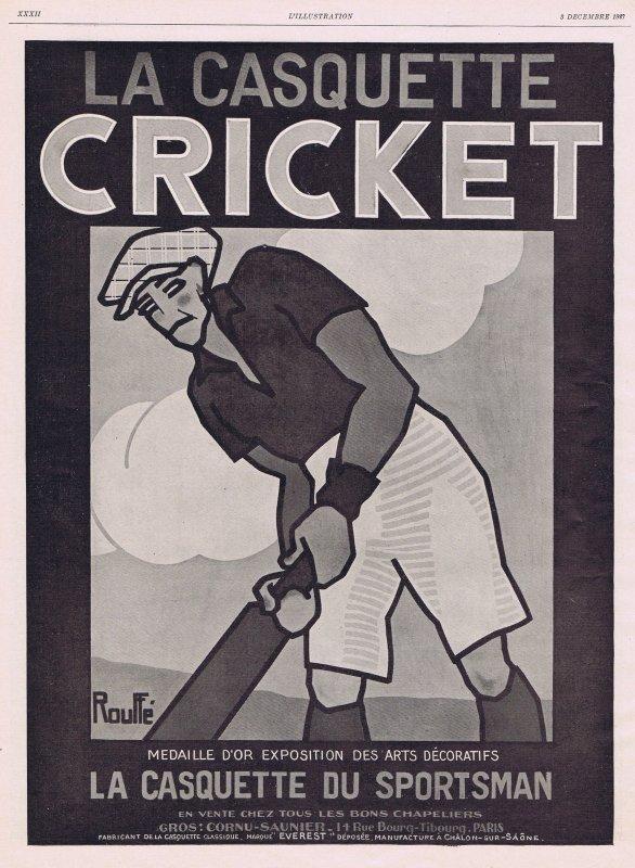🎩 Mode Hommes 🎩 Accessoires  🎩 la casquette Cricket  🎩