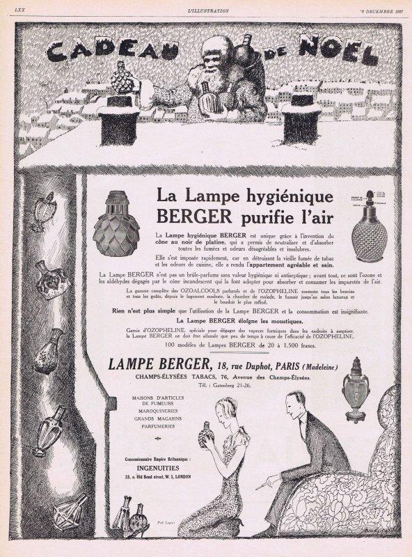 🏮 Lampe Berger 🏮
