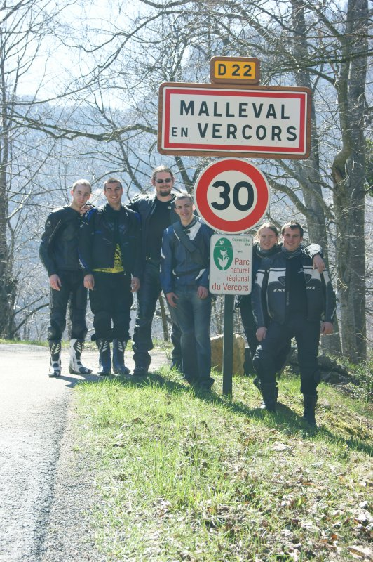 Malleval en Vercors 02/04/2011